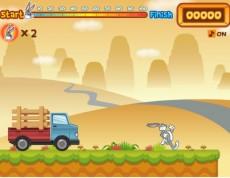 Bugs Bunny Hopping - Utekaj s Bugs Bunny po mrkvu