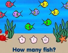 Fishy Count - Zrátaj rybičky!