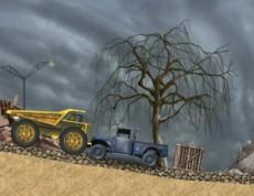 Dumper Truck - Nadupaný nákladiak na ceste