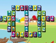 Smurfs Mahjong - Mahjong so Šmolkami