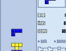 Tetris - Farebná skladačka