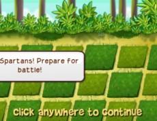 Spartans vs. Goblins - Sparťania v boji