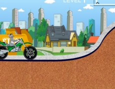 Tom And Jerry Motobike - Tom na motorke