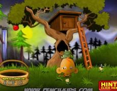 Monkey Go Happy Mini - Mini opičková hra