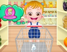 Baby Hazel In Kitchen - Nauč sa kupovať a variť!
