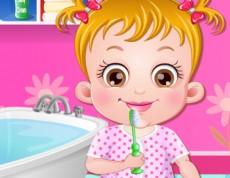 Baby Hazel Brushing Time - Čistíme si zúbky