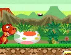 Dino Super Jump - Zábavná dino hra