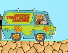 Scooby Doo Ride - Šoféruj auto Scooby Doo