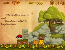 Ninja Mushroom - Ninja Hríbik logická hra