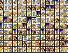 Tiles Of The Simpsons - Skladačka so Simpsonovcami