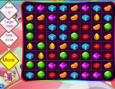 Candy Match - Skladaj sladké trojice