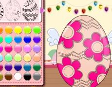 Easter Eggs Painting - Vajíčková omaľovanka