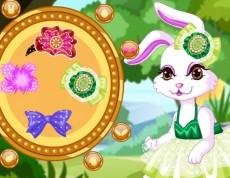 Dress My Easter Bunny - Obleč Veľkonočného zajačika
