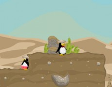 Penguin Wars 2 - Skákačka s tučniakmi