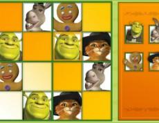 Sudoku Shrek - Zábavné Shrek Sudoku