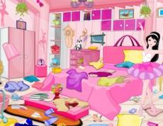 Ballerina Girl Messy Room - Uprac izbu baletke