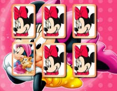 Minnie Mouse Memory - Pexeso s Minnie