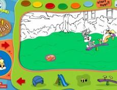 Paint and Play - Známe postavičky na ihrisku