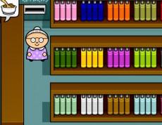 Librarian Grandma - Zapamätaj si knižky v knižnici