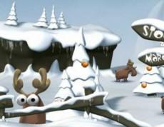 Algar Snow Fight - Traf soba guľou!