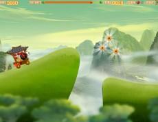Kung Fu Panda Racing - Panda jazdí!