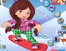 Snowboarder Girl - Ako sa obliecť na snowboard?