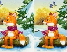 Winter 5 Differences - Hľadaj rozdiely na obrázkoch