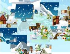 Christmas Wonderland Jigsaw - Vianočné puzzle