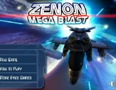 Zenon mega blast - Galaktická invázia