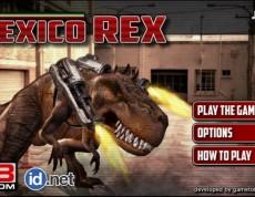 Mexico Rex - Tyranosaurus Rex útočí