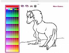 Shetland Pony Coloring - Vyfarbi si poníka!