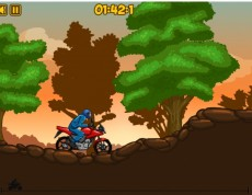 Forest Ride 2 - Jazda na motorke