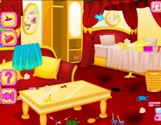 Princes Room Cleaning - Princezná upratuje