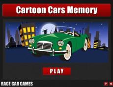 Cartoon Car memory - Autíčkové pexeso