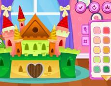 Build Princess Castle - Postav hrad pre princeznú