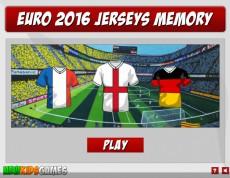 Euro 2016 Jersey Memory - Pexeso športové dresy