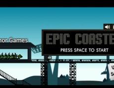 Epic Coaster - Riaď húsenkovú dráhu!