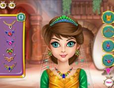 Princess Hairdo - Vytvor účes pre princeznú!