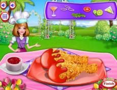 Castle Cake Cooking - Priprav chrumkavé kura!
