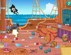 Caribean Pirate Ella´s Journey - Na pirátskej lodi