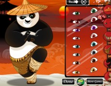 Kung Fu Panda - Vymysli jej outfit!