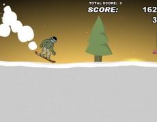 Downhill Snowboard 3 - Online snowboardovanie