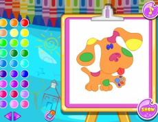 Puzles And Coloring Girl - Skladačka a vyfarbovanie