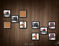 Bike Memory Chelenge - Pexeso s motorkami