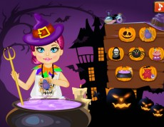 Baby Halloween Slacking - Úlohy pre malú čarodejnicu