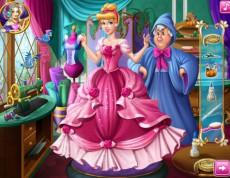 Cinderella Tailor Ball dress - Popoluška ide na bál