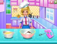 Chef Camilla's Delicious Rainbow Donut - Kamila pečie farebný koláč