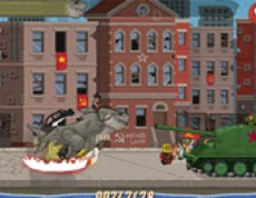 Sharkosaur Attack - Žralokosaurus útočí