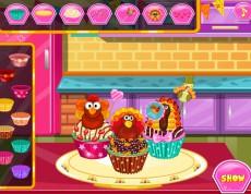 Thanksgiving Turkey Cupcakes - Vyzdob košíčky!