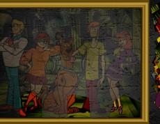 Puzzle Scooby Doo - Poskladaj si Scoobyho